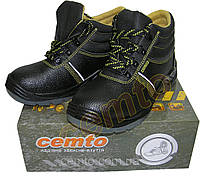 Ботинки рабочие cemto с металлическим носком на ПУП, черевики робочі з металевим