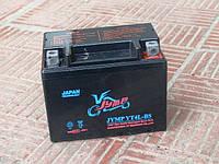 Мото аккумулятор АКБ 12N4 пастовый (110x67х87)
