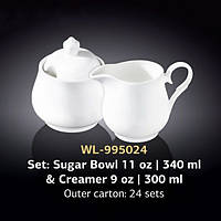 Набор сахарница+молочник Wilmax Color WL-995024