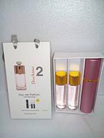 Наборы духов по 15мл 3шт Dior Addict 2