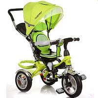 Велосипед детский трехколесный Turbo Trike M 3114-4A Green (M 3114)