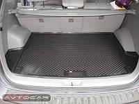 Коврик в багажник SSANG YONG ACTYON с 2005-2011  / цвет:черный