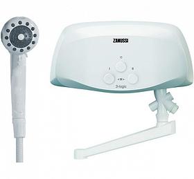 Проточний водонагрівач Zanussi 3–logic 3,5 TS (душ + кран)