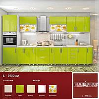Пряма кухня L-3900 мм