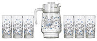 Кувшин со стаканами Luminarc Romantique 7 предметов
