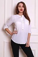 Универсальная белая блуза