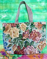 Пляжная  сумка из гобелена