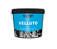 Декоративне покритт Velluto TM ELEMENT, 3кг