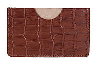 Холдер для личных визиток (KROCO коричневый), фото 1