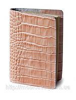Обкладинка для паспорта VIP (KROCO пудра)
