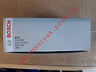 Лампа автомобильная двухконтактная Bosch P21/5W 12V 21/5W BAZ15d ECO (1 987 302 814)
