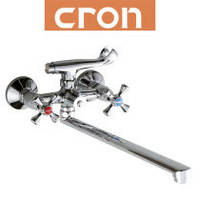 Смеситель для ванны длинный нос Cron SMES EURO (Chr-140)
