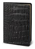 Обложка для паспорта VIP (KROCO черный), фото 1