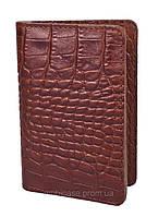 """Холдер для визиток и пластиковых карт """"BOOK"""" VIP (KROCO коричневый)"""