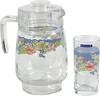 Кувшин со стаканами Luminarc Florine 7 предметов