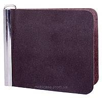 "Зажим для банкнот ""SIMLE""  (коричневый), фото 1"