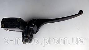 Тормозная машинка GY6 правая с креплением под зеркало 8mm