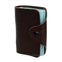 Холдер для пластиковых карт вертикальный VIP (коричневый)     20 шт.