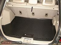 Коврик в багажник Hyundai Accent с 2011- / цвет:черный