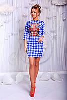 """Стильное молодежное платье мини """" United Kingdom """" Dress Code"""