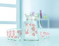 Кувшин со стаканами Luminarc Beliarosa 7 предметов