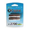 Аккумуляторы X-Digital AA (HR6) 2700mAh (2шт.)