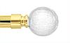 Декоративный наконечник Сепия для кованого карниза 25 мм.