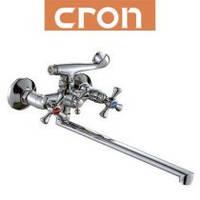Смеситель для ванны длинный нос Cron SMES (Chr-143)