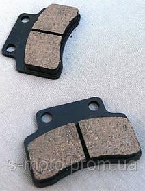 Колодки дисковые GY6-125 (4-х тактн. Китаец)
