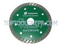 Круг отрезной по бетону алмазный 125 TW KROHN