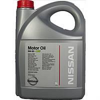 Масло моторное Nissan 5W30  5л.