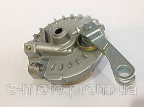 Крышка тормозного барабана с колодками Honda Tact, TB-60 (цепник)
