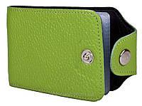 Холдер для пластиковых карт горизонтальный VIP (флотар салатовый)     20 шт., фото 1