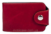 Холдер для пластиковых карт горизонтальный VIP (хамелеон красный)     20 шт.