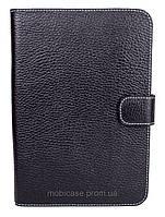 Чехол-книжка для Samsung Galaxy Tab P1000 (Флотар черный), фото 1