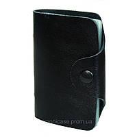 Холдер для пластиковых карт вертикальный VIP (черный)    20 шт.