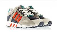 Мужские кроссовки Adidas Consortium EQT 93 (Адидас) серо-сине-красные