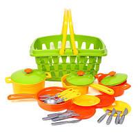 Игровой набор Посуда с корзинкой 4456 Технок