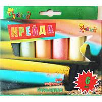 Цветные мелки для асфальта Jumbo HC-6 НеЗнайка