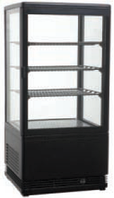 Шкаф-витрина холодильная FROSTY RT78L-1D black (черный)