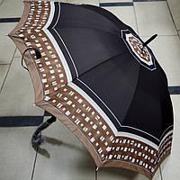 Зонт женский трость механический, фото 1