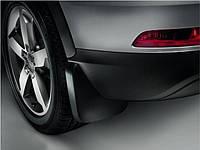Брызговики на Audi Q3, с 2015 года, рестайлинг, оригинальные, задние, 2 шт