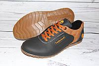 Туфли мужские на весну/осень R56, черные