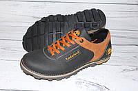 Туфли мужские на весну/осень R58, черные