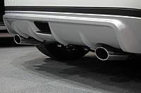 """Накладка на задний бампер """"Impul"""" для Nissan Juke, Ниссан Жук"""