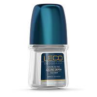 Дезодорант-антиперспирант для мужчин LECO Seven Active Azure Depth for men, 50 мл.