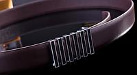 Мужской кожаный ремень. Модель 2132, фото 2