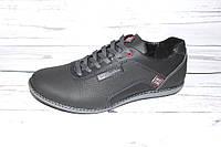 Туфли  мужские черного цвета R52