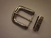 Пряжка литая двойка для ремня 32 мм