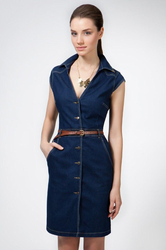688134ae94d4bd2 Стильное джинсовое платье миди на пуговицах: продажа, цена в ...